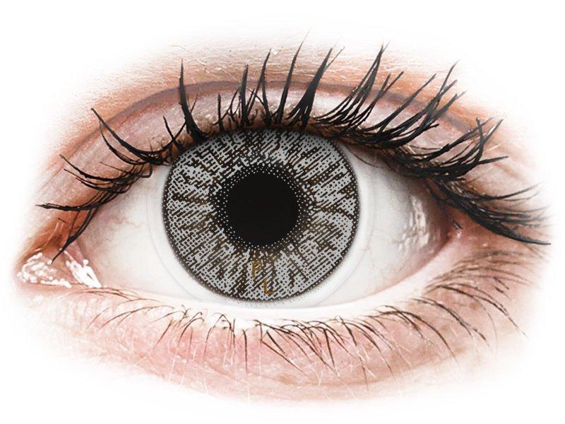 Misty Grey контактные линзы - FreshLook Colors (2 месячные цветные линзы)