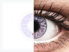 Violet контактные линзы - FreshLook Colors - С диоптриями (2 месячные цветные линзы)