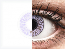 Violet контактные линзы - FreshLook Colors (2 месячные цветные линзы)