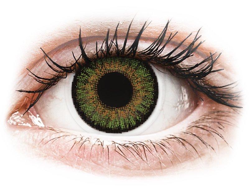 Green контактные линзы - FreshLook One Day Color (10 однодневных цветных линз)