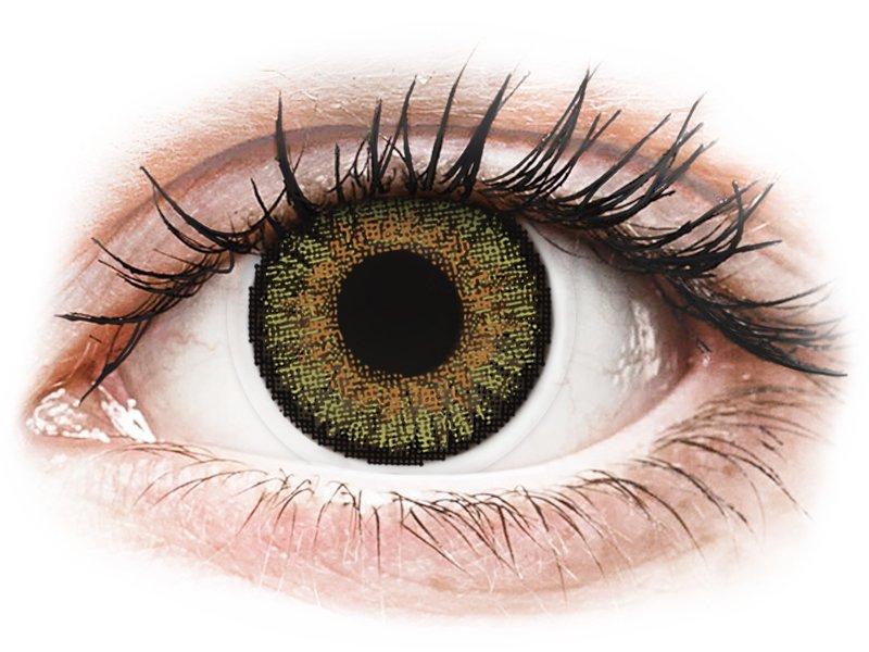 Pure Hazel контактные линзы - FreshLook One Day Color (10 однодневных цветных линз)