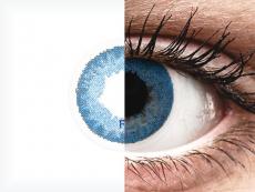 Pacific Blue контактные линзы - FreshLook Dimensions (2 месячные цветные линзы)