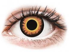 Orange Werewolf контактные линзы - ColourVue Crazy (2 однодневные цветные линзы)