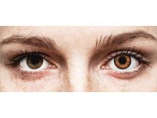 Orange Twilight контактные линзы - ColourVue Crazy (2 однодневные цветные линзы)