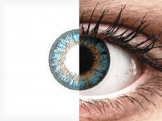 Blue One Day TruBlends контактные линзы - ColourVue - с диоптриями (10 цветных линз)