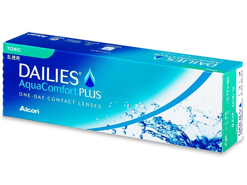 Dailies AquaComfort Plus Toric (30 линз)