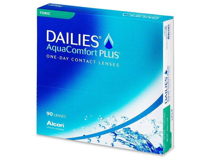 Dailies AquaComfort Plus Toric (90линз)
