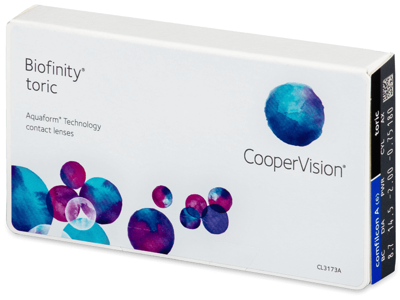 Biofinity Toric (6линз)
