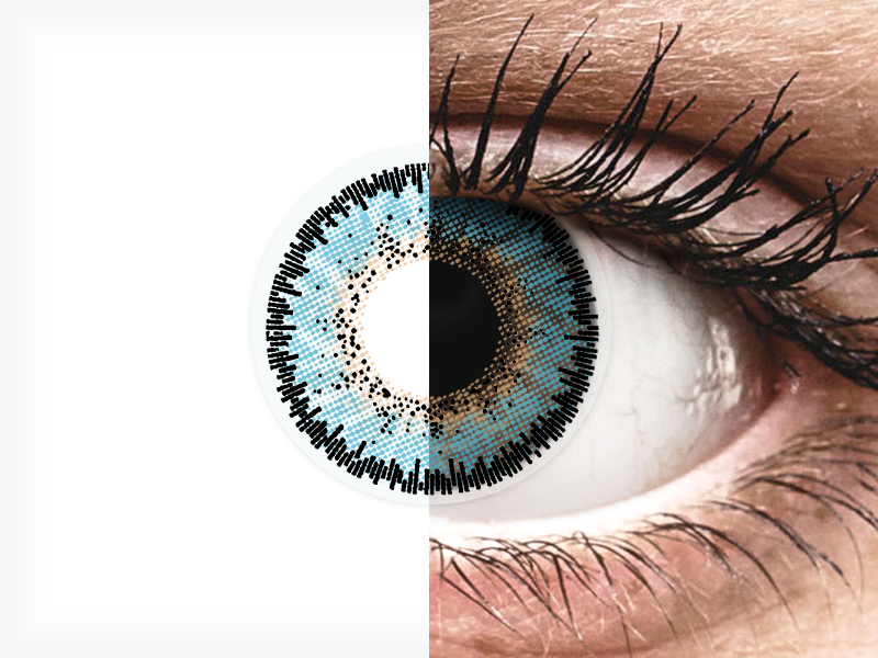 Blue Aqua 3 Tones контактные линзы - ColourVue (2 цветные линзы)
