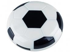 Футляр для линз с зеркалом Футбол - черный