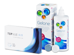TopVue Air (6 линз) +Раствор Gelone360мл