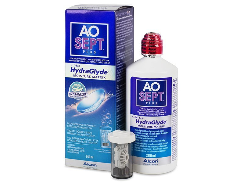 AO SEPT PLUS HydraGlyde Раствор 360 мл