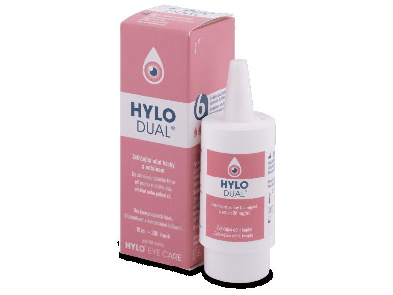 Глазные капли HYLO-DUAL 10 ml