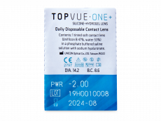 TopVue One+ (30 линз)
