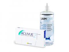 Acuvue 2 (6 линз) + Раствор Laim-Care 400 ml