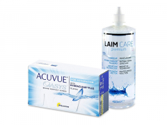Acuvue Oasys for Astigmatism (12 линз) + Раствор Laim-Care 400 ml