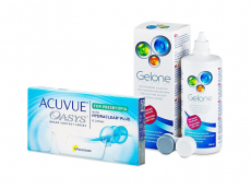Acuvue Oasys for Presbyopia (6 линз) + Раствор Gelone 360 ml