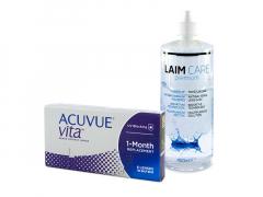 Acuvue Vita (6 линз) + Раствор Laim-Care 400 ml