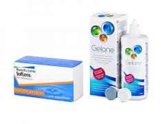 SofLens Toric (3 линзы) + Раствор Gelone 360 ml