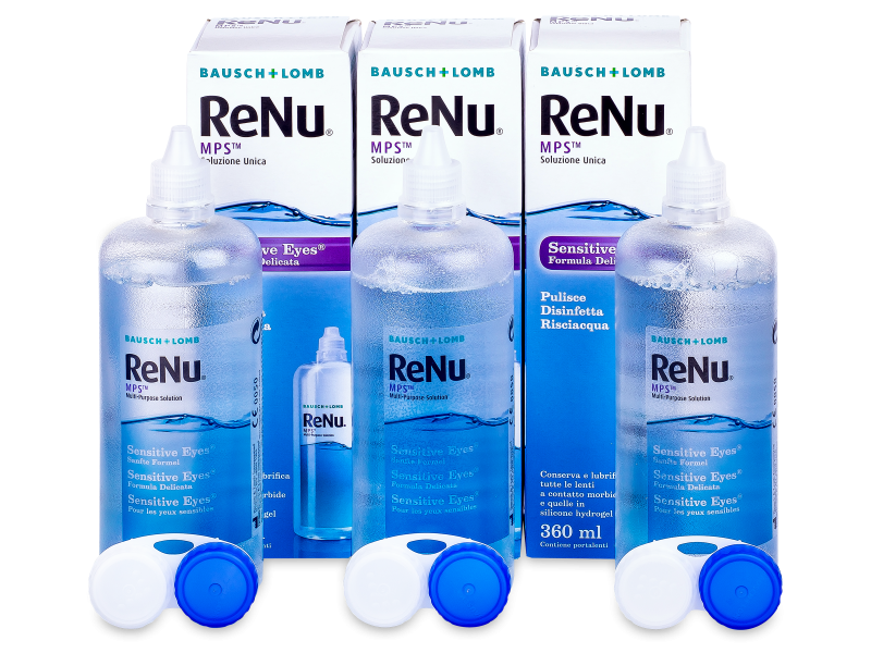 ReNu MPS Sensitive Eyes Раствор 3 x 360 мл