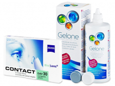 Carl Zeiss Contact Day 30 Compatic (6линз) +Раствор Gelone360мл
