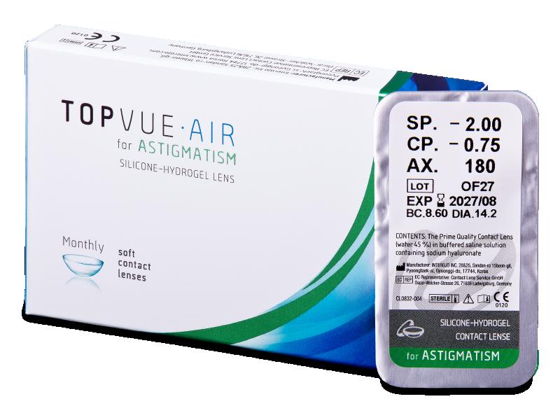 TopVue Air for Astigmatism (1линза)