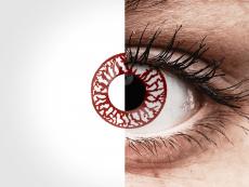Blood Shot контактные линзы - ColourVue Crazy (2однодневные цветные линзы)