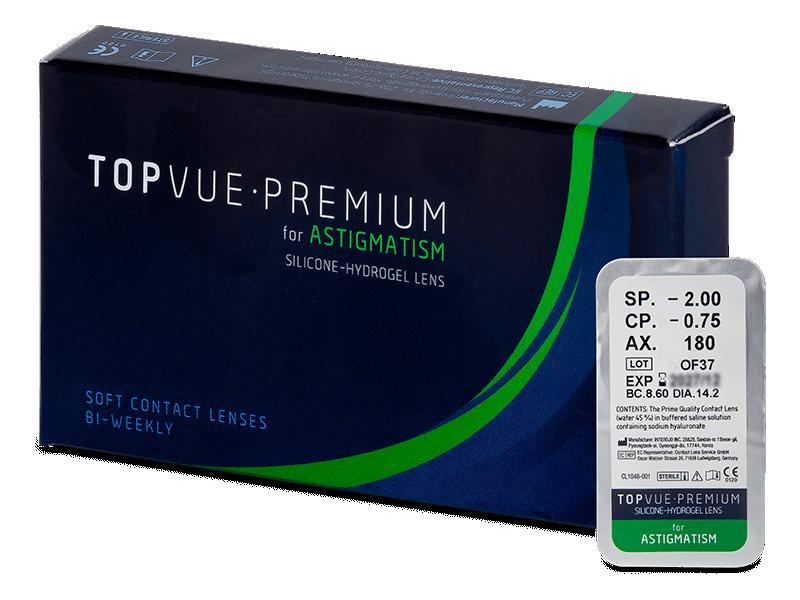 TopVue Premium for Astigmatism (1 линза)