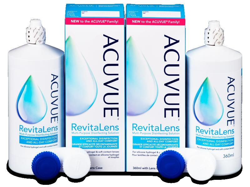 Раствор Acuvue RevitaLens 2 x 360 ml