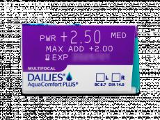 Dailies AquaComfort Plus Multifocal (90линз)