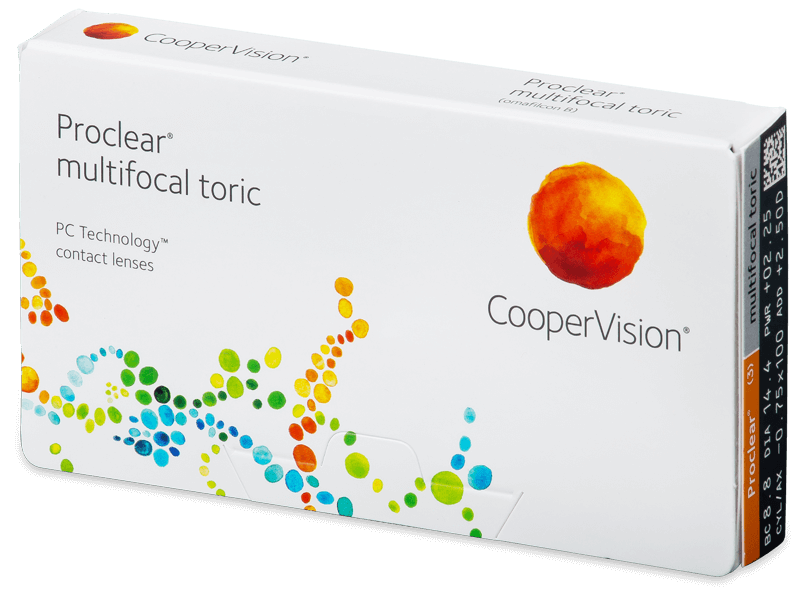 Proclear Multifocal Toric (3линзы)