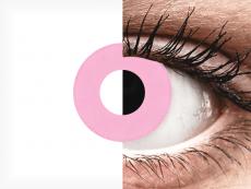 CRAZY LENS - Barbie Pink - с диоптриями (2 однодневных цветных линз)