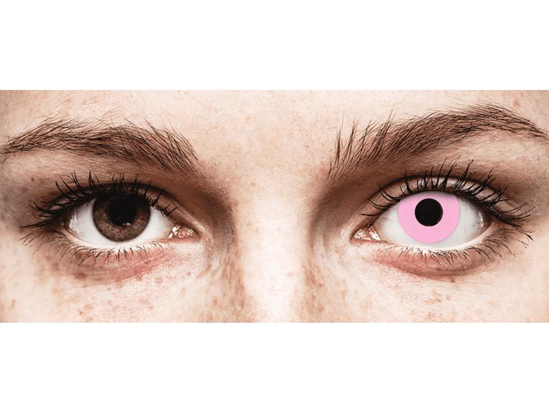 CRAZY LENS - Barbie Pink - без диоптрий (2 однодневных цветных линз)