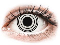 CRAZY LENS - Rinnegan - с диоптриями (2 однодневных цветных линз)