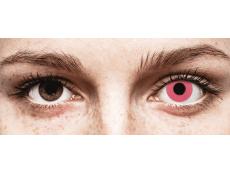 CRAZY LENS - Solid Rose - с диоптриями (2 однодневных цветных линз)