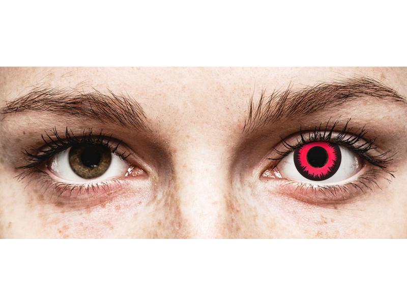 CRAZY LENS - Vampire Queen - с диоптриями (2 однодневных цветных линз)