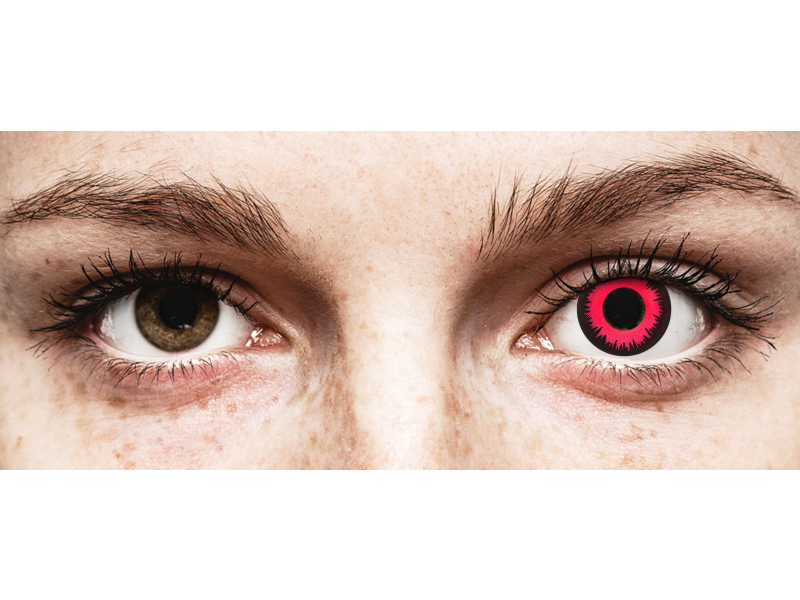 CRAZY LENS - Vampire Queen - без диоптрий (2 однодневных цветных линз)