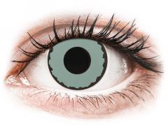 CRAZY LENS - Zombie Virus - с диоптриями (2 однодневных цветных линз)