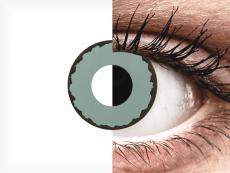 CRAZY LENS - Zombie Virus - без диоптрий (2 однодневных цветных линз)