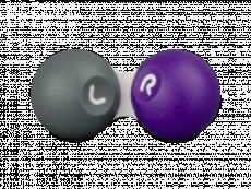 Серо-фиолетовый контейнер для контактных линз