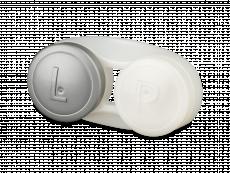Антибактериальный футляр для линз - серый