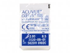Acuvue Oasys 1-Day with Hydraluxe (90 линз)
