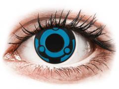 CRAZY LENS -  Vision - без диоптрий (2 однодневных цветных линз)