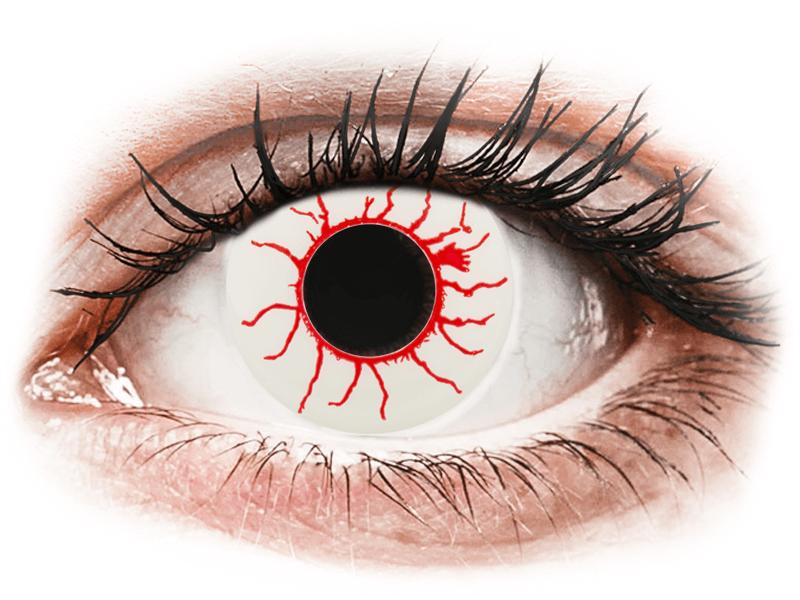 CRAZY LENS - Red Viper - без диоптрий (2 однодневных цветных линз)