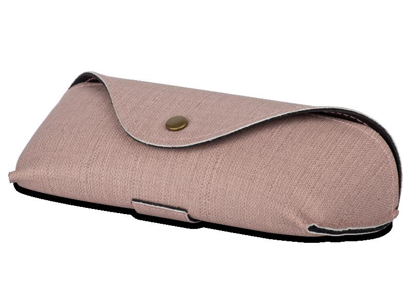 Розовый футляр для очков  SH224-1