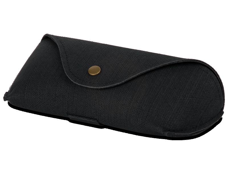 Черный футляр для очков SH224-1