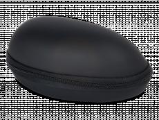 Черный чехол для очков  BL031
