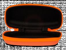 Детский футляр для очков на молнии - оранжевый