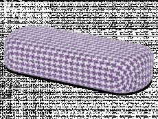Футляр для очков - Бело-фоилетовый петух