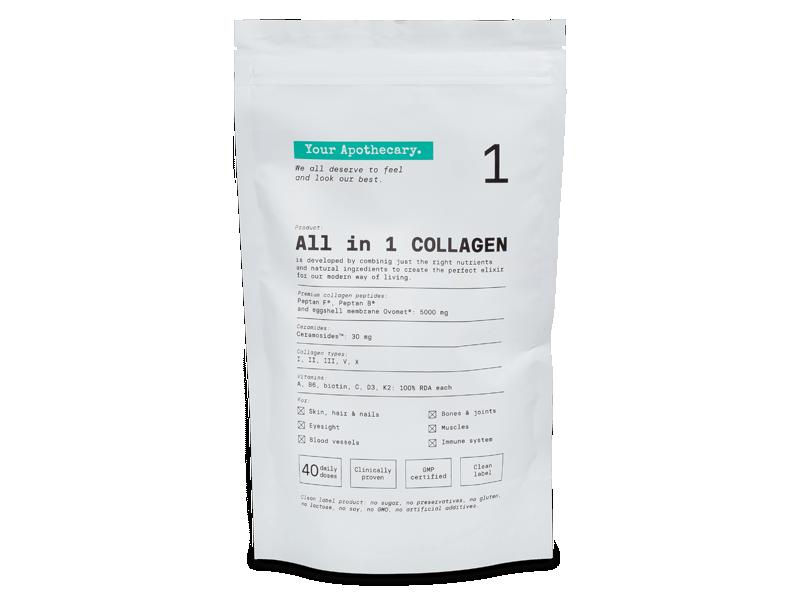 Пищевая добавка Collagen All in 1 -  Манго & Маракуйя 220 г